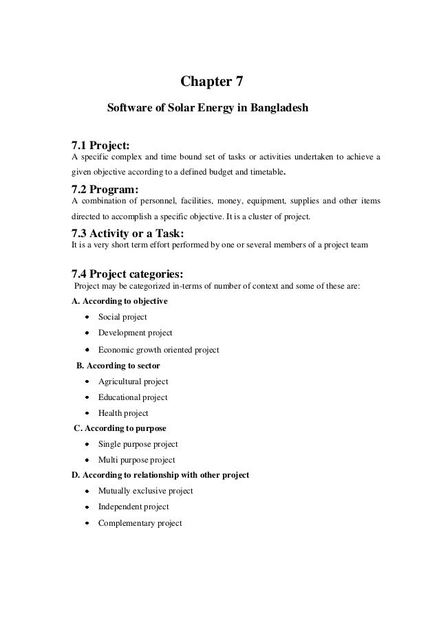 thesis on solar power project Various products from a solar lantern with its mini solar panel,  54 previous or  current off-grid pv projects in sumba iconic island program.