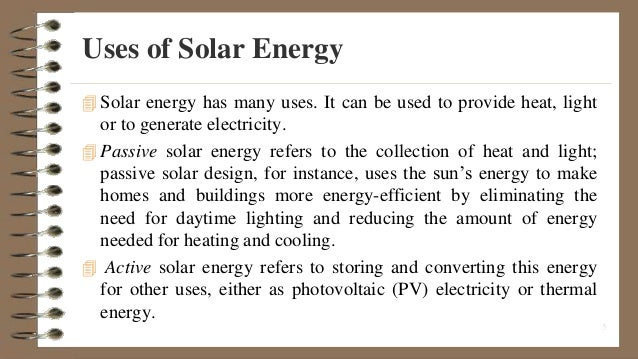 Solar Energy: 10 Major Application of Solar Energy – Explained!