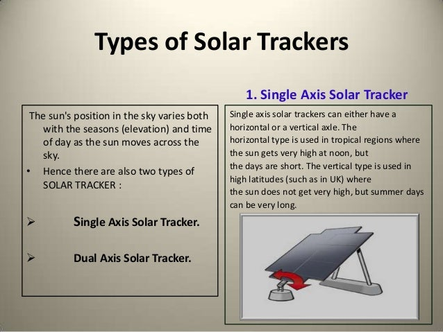 Smart solar tracking system for optimal power generation ppt.