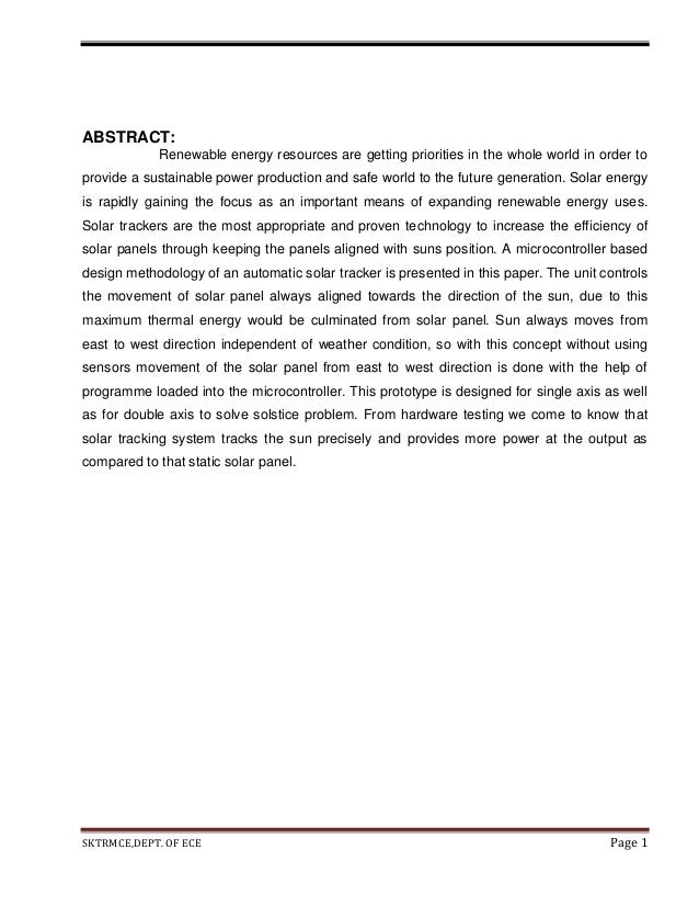 ABSTRACT: Renewable energy resources are getting priorities in the whole world in order to provide a sustainable power pro...