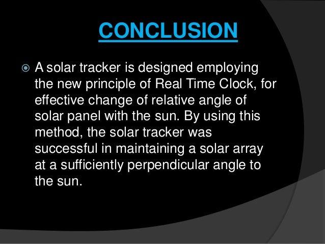 Solar Tracking System
