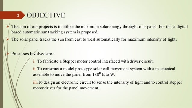 Solar Tracking System Using 8051 Microcontroller