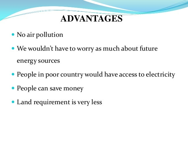 Advantages growing more trees essay