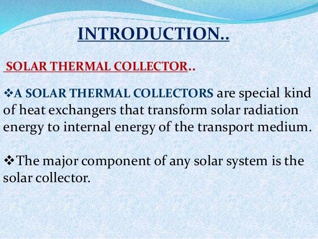Solar flat plate collector Slide 2