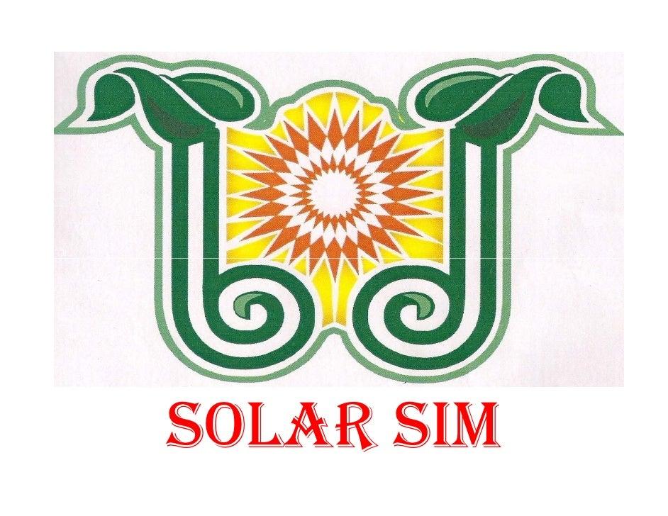 SOLAR SIM