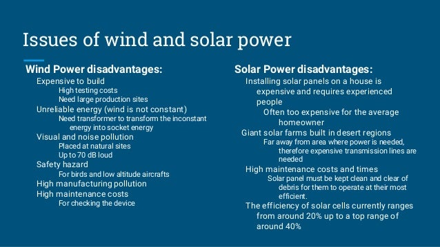 Solar Power Vs Wind Power For Individuals Henrik Frank