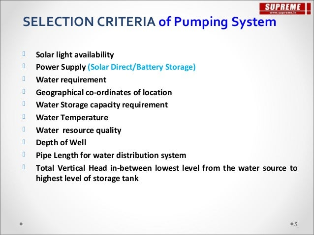 Solar water pumping_solution