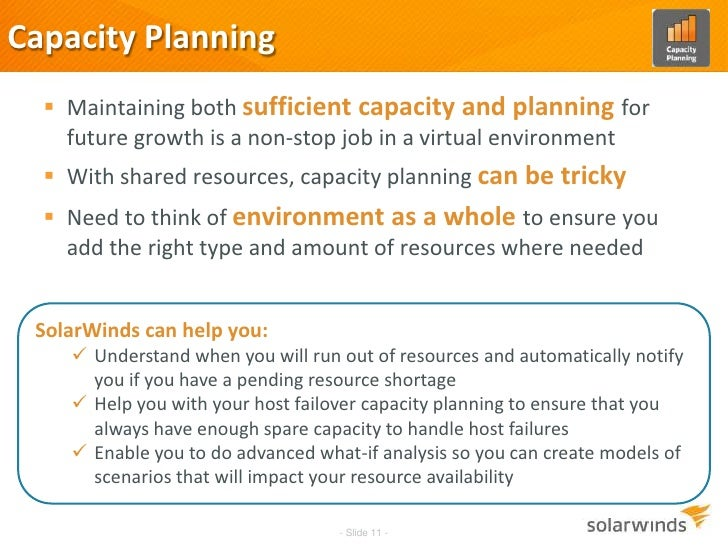 capacity planning and decisions Approaches to capacity planning  multi-staged problem in which decisions follow in sequence,  it is a technique specific to capacity planning but not.