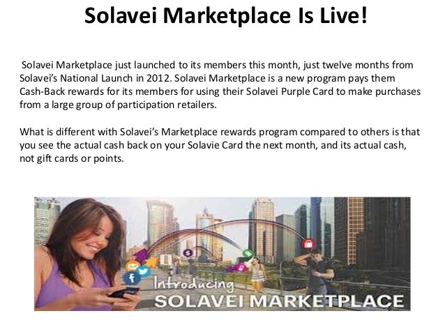 Solavei Marketplace Is Live! Solavei Marketplace just launched to its members this month, just twelve months from Solavei'...