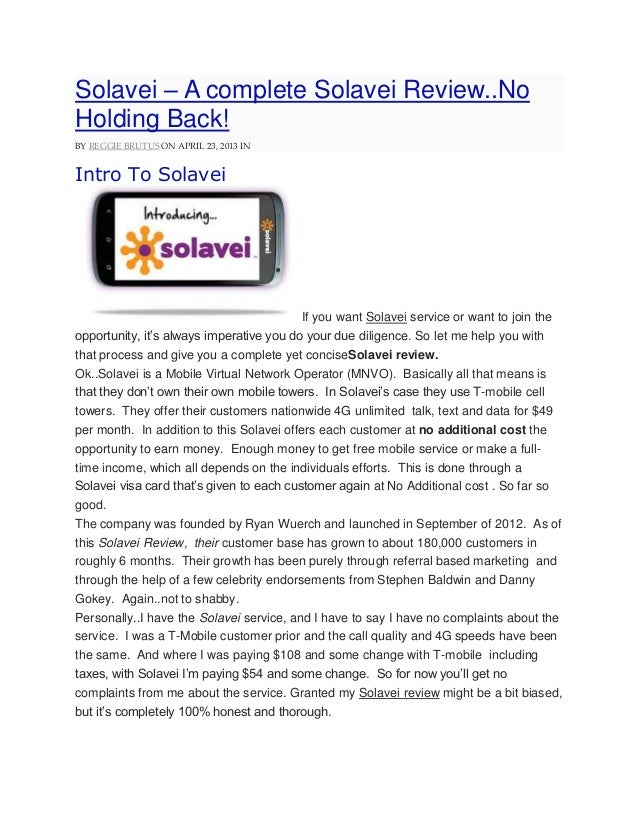Solavei – A complete Solavei Review..NoHolding Back!BY REGGIE BRUTUS ON APRIL 23, 2013 INIntro To SolaveiIf you want Solav...