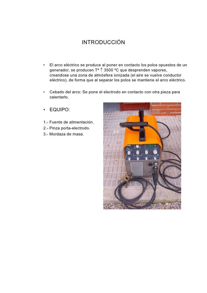 Soldadura electrica - Equipo soldadura electrica ...