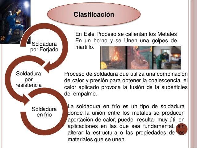 Soldadura a presion y fusion - Soldadura en frio ...