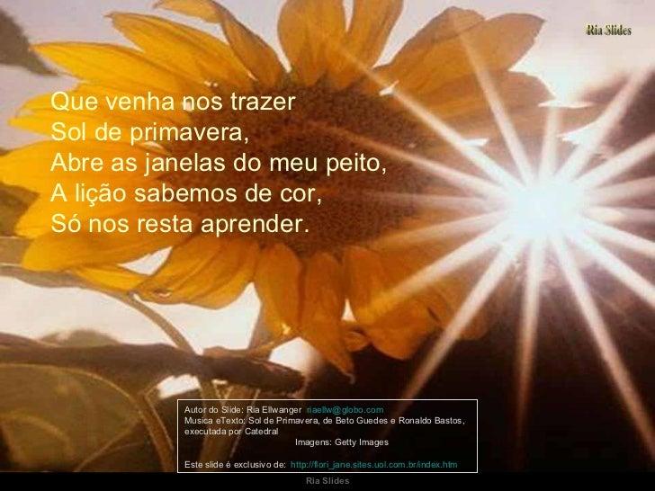 5f77e2ba3 Sol De Primavera