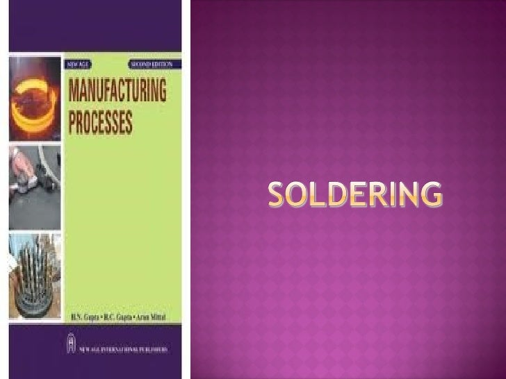 The accepted definition of soldering is:-       • The joining of metals using a filler material of a         lower melting...