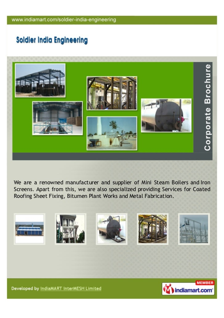 Soldier Engineering Works Chennai Coated Roofing Sheet