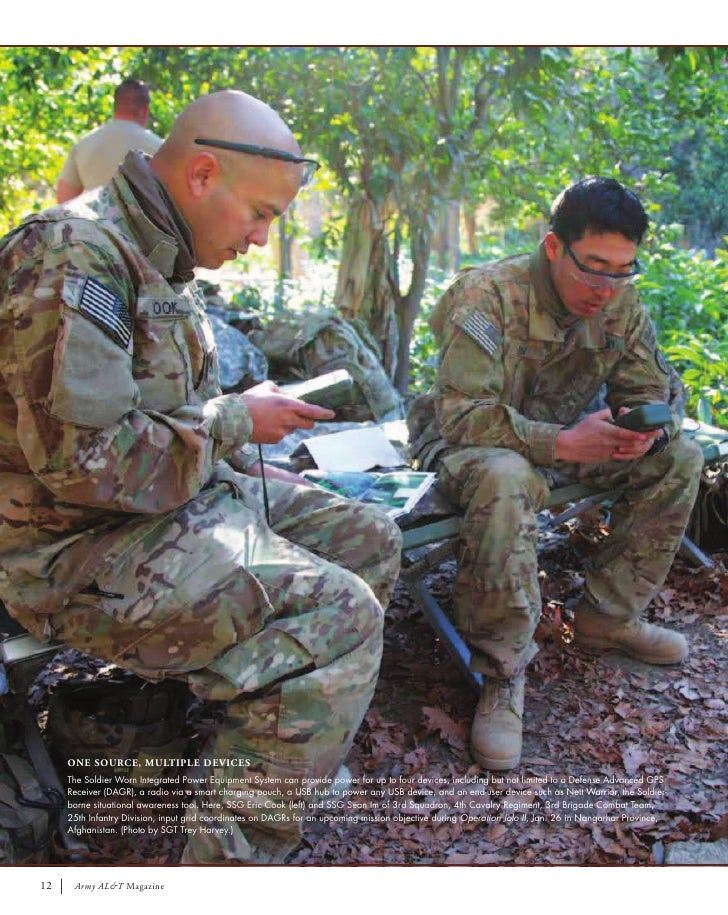 ONE SOURCE, MULTIPLE DEVICES     The Soldier Worn Integrated Power Equipment System can provide power for up to four devic...