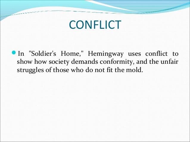 soldiers home hemingway analysis