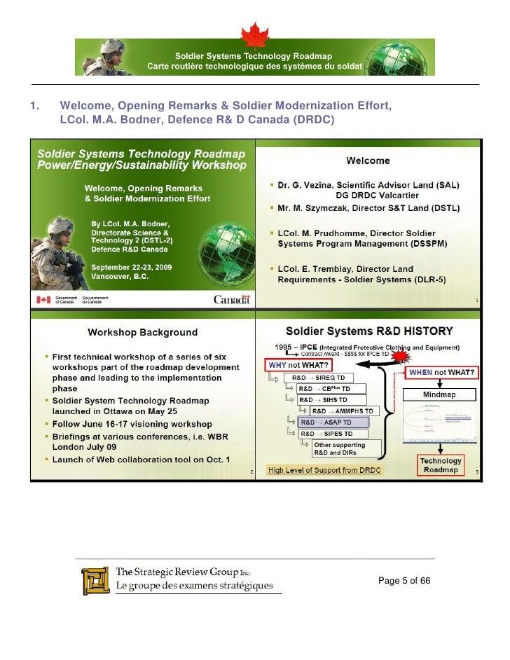 SSTRM - StrategicReviewGroup.ca - Workshop 2: Power ...