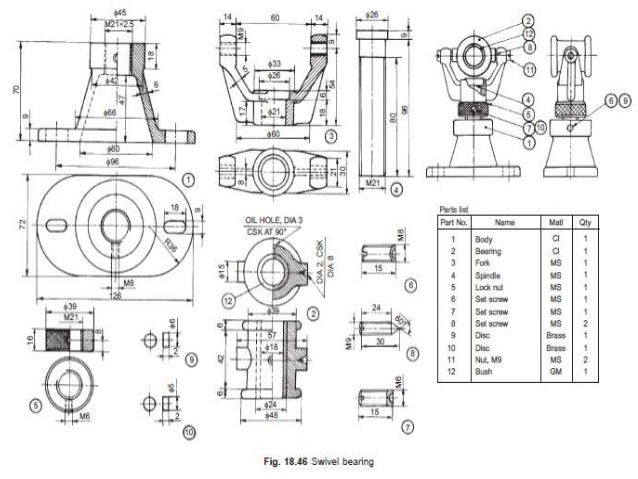 Bearing Puller Assembly Drawing : Drawing