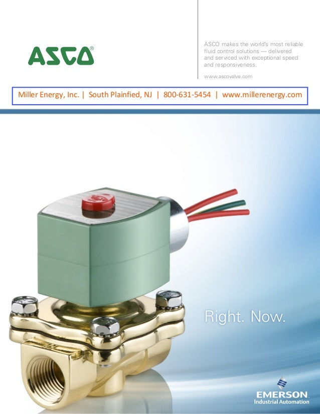 ASCO makes the world's most reliable fluid control solutions — delivered and serviced with exceptional speed and responsiv...
