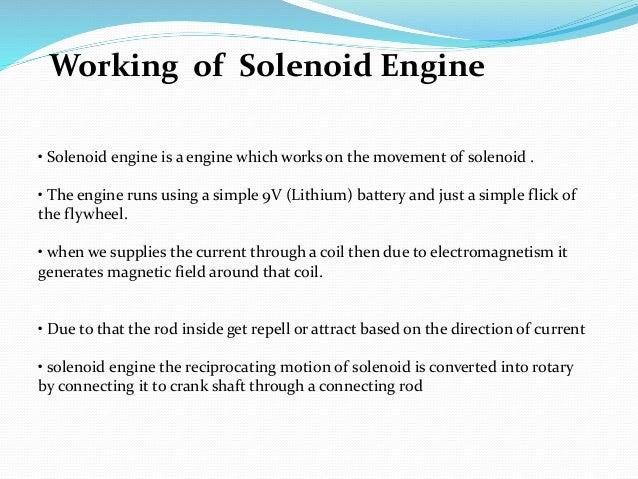 Solenoid engine
