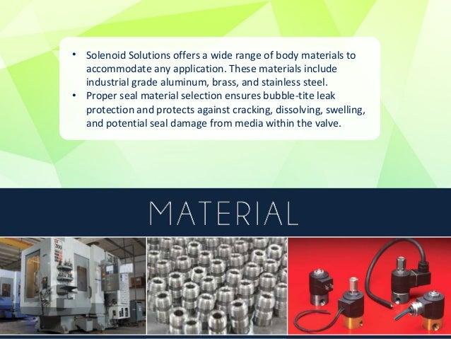 Overview of Solenoid Solutions' Valve Operations  Miniature Valves  •Wattmizer Series  •Super Wattmizer Series  Mid-Range ...