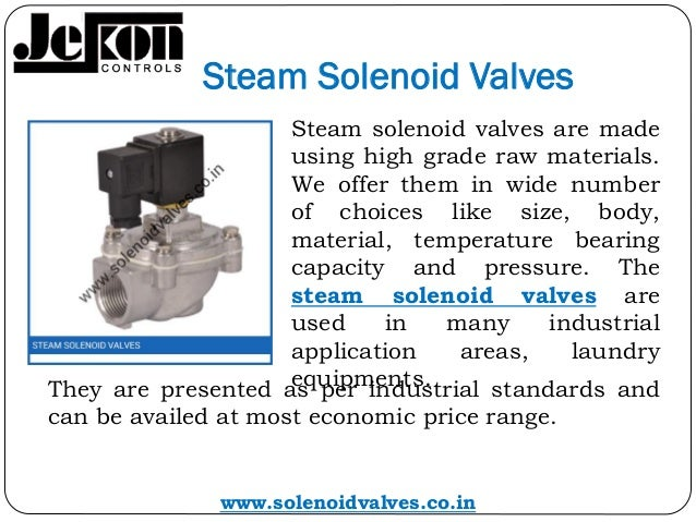 Solenoid valves,solenoid valves manufacturers gujarat, solenoid valve manufacturer india Slide 3