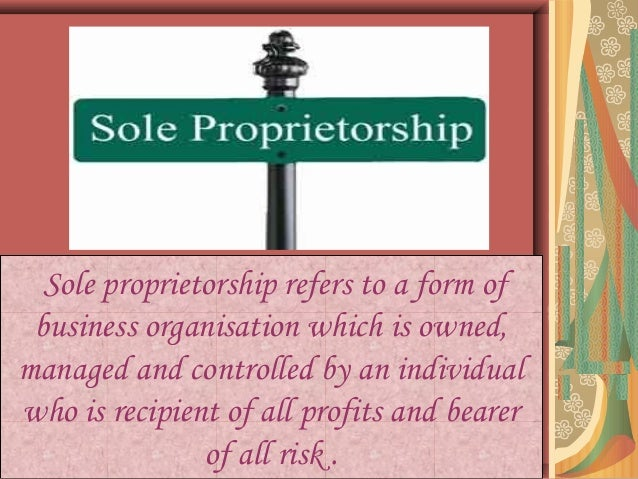 how to get a sole proprietorship