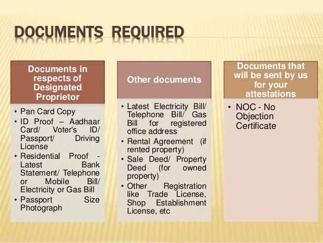 sole trader registration  How to register sole proprietorship in India