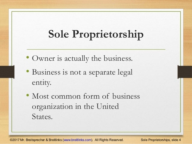 business sole proprietorship and hotel What is a sole proprietorship a sole proprietorship is a one-person business that is not registered with your state as a corporation or limited liability company.
