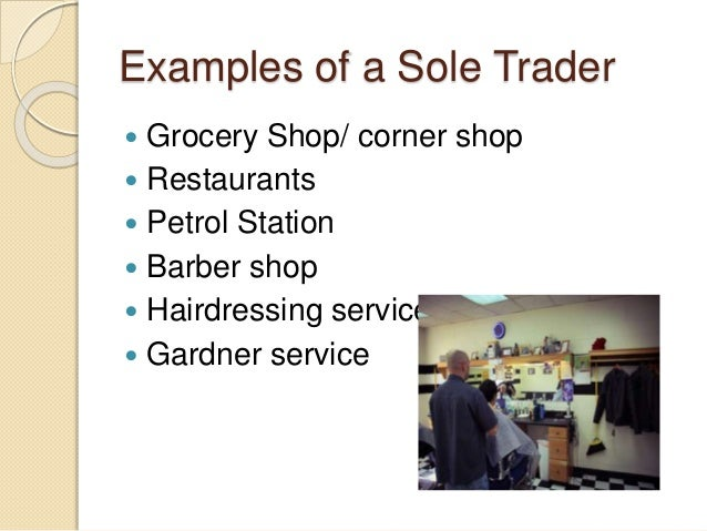 Sole Trader business ppt