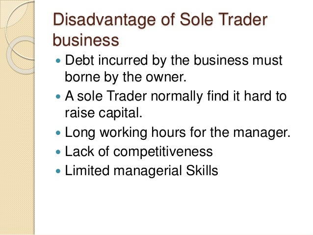 sole trading concern Set-up steps and costs for a sole trader and a company.