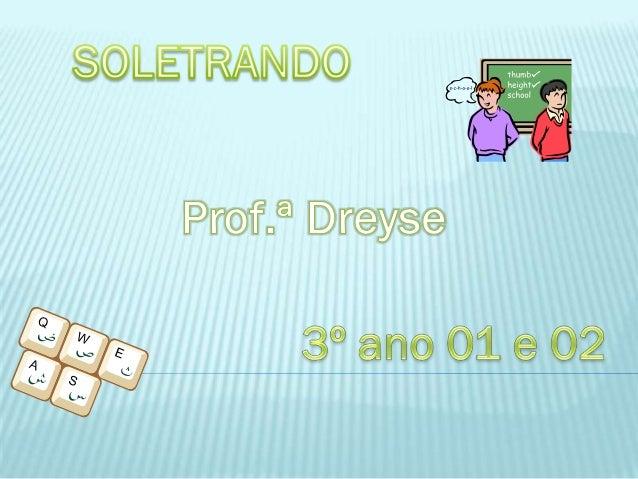 O Objetivo da aula foi tranquilizar e auxiliar a aluna Jainara Layse Cesconetto, que foi a participante no concurso Soletr...