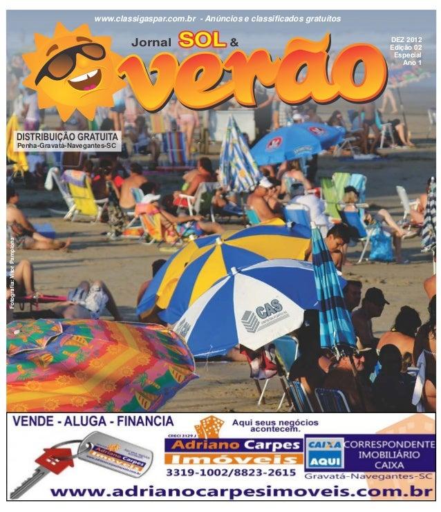 www.classigaspar.com.br - Anúncios e classificados gratuítos                                                           Jor...