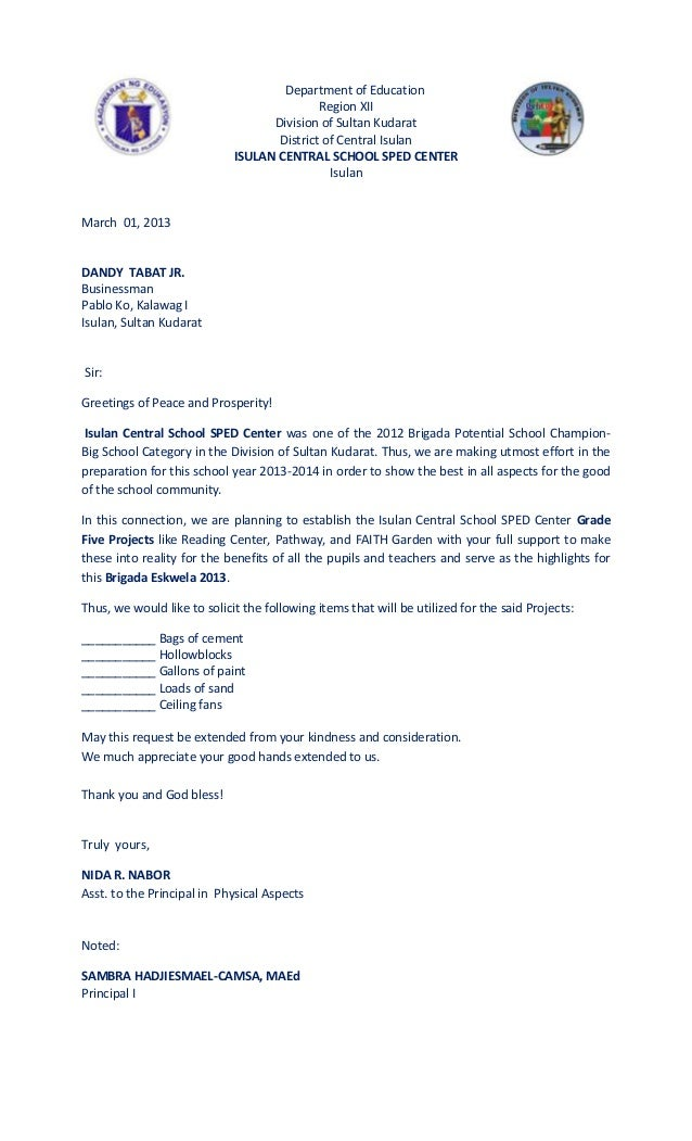letter of application letter of application sample solicited