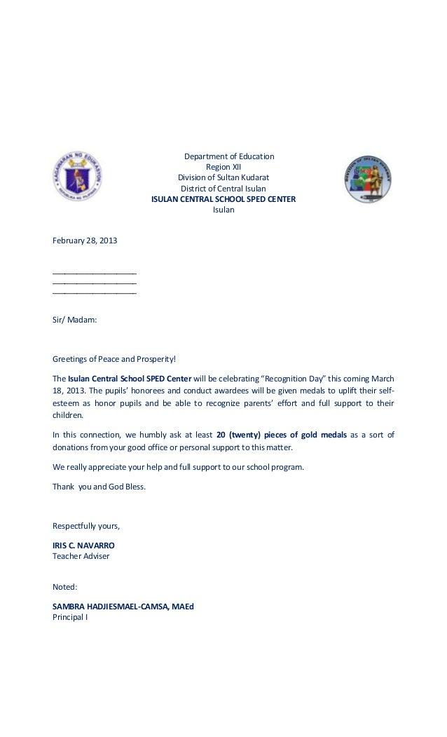 solicitation letters rh slideshare net best donation request letters sample non profit donation letters