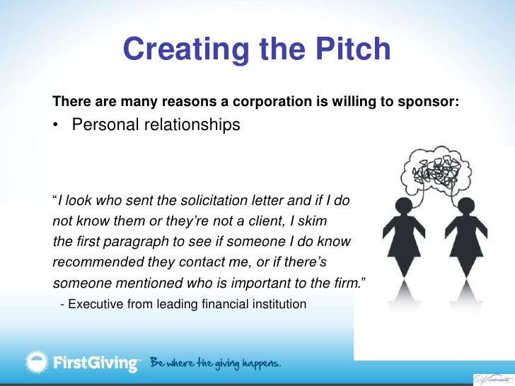 corporation is willing to sponsor personal relationships 52