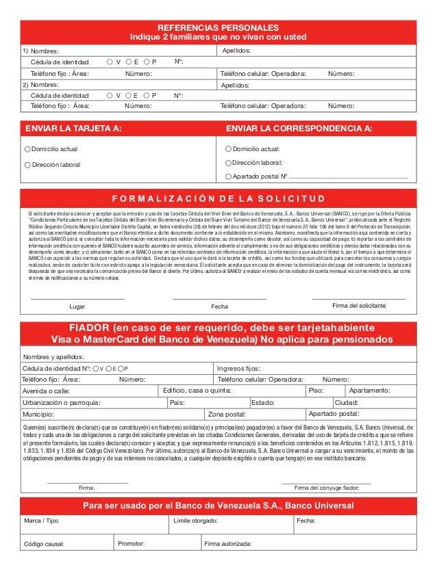ENVIAR LA TARJETA A: ENVIAR LA CORRESPONDENCIA A: Apartado postal Nº Dirección laboral: Domicilio actual: Dirección labora...