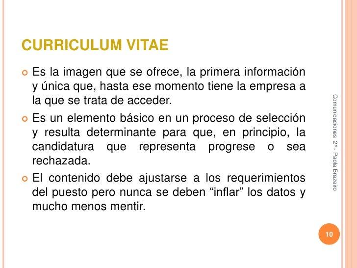 3.2.4 elaboracion de la hoja de solicitud y curriculum vitae