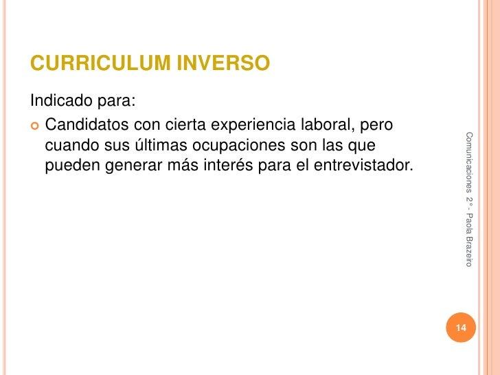 Solicitud De Empleo Y Curriculum Vitae
