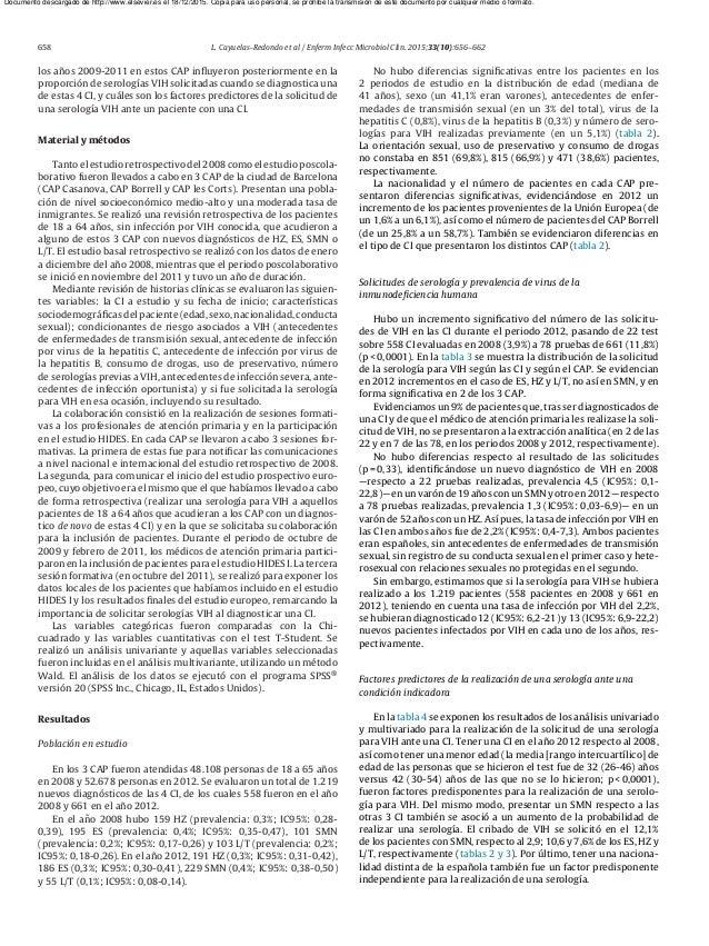 658 L. Cayuelas-Redondo et al / Enferm Infecc Microbiol Clin. 2015;33(10):656–662 los a˜nos 2009-2011 en estos CAP influyer...