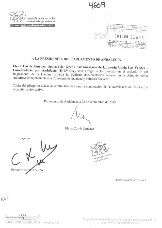 Iniciativas parlamentarias - Solicitudes de Información (I)