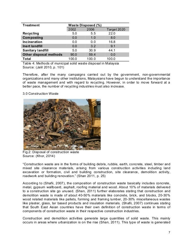 waste management and disposal essay This free environmental studies essay on solid waste management is perfect for environmental studies students to use as an example.