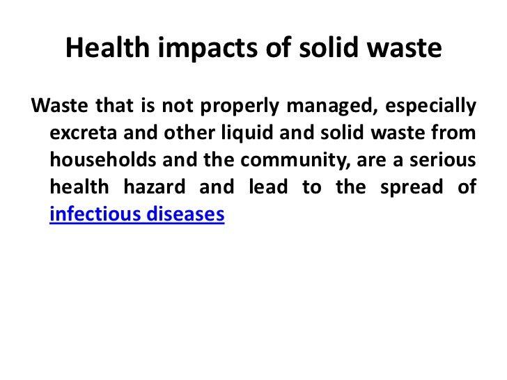 solid and hazardous waste essay