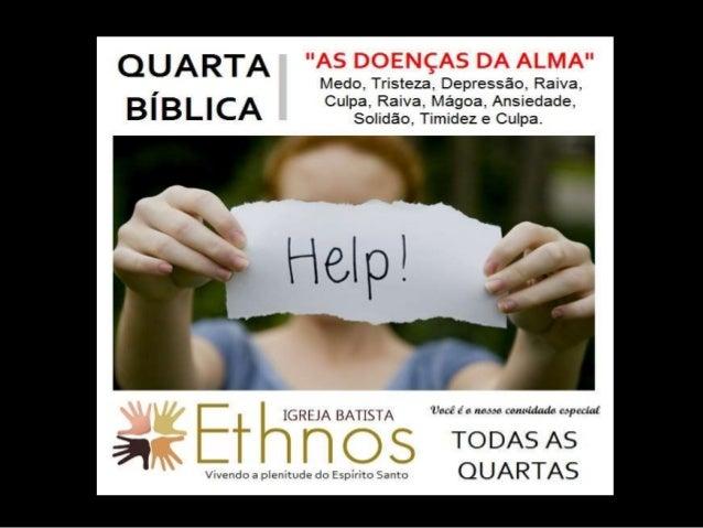 SOLIDÃO, O MAL DO SÉCULO Pastor Jamierson Oliveira (https://www.facebook.com/jamierson.oliveira)