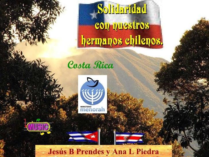 Jesús B Prendes y Ana L Piedra