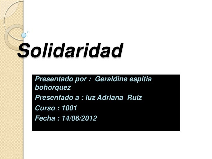 Solidaridad Espitia Geraldinne