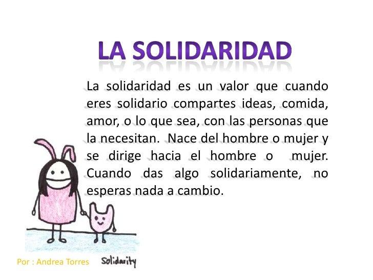 Solidaridad Andrea Torres