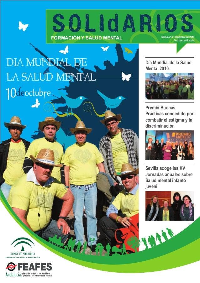 Día Mundial de la Salud Mental 2010 Premio Buenas Prácticas concedido por combatir el estigma y la discriminación Sevilla ...