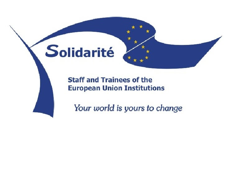 The Solidarité Proposal is a proposal forhighly beneficial human resources activities inside the EU Institutions which inv...